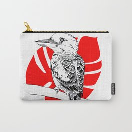 Kookaburra - Pen and Ink Carry-All Pouch