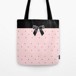 Black Tie Affair: Pink Tote Bag