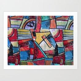 MODERN ART 3 Art Print