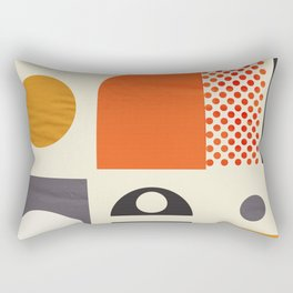 Mid-century no1 Rectangular Pillow