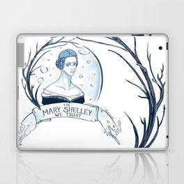 In Mary Shelley We Trust Laptop & iPad Skin
