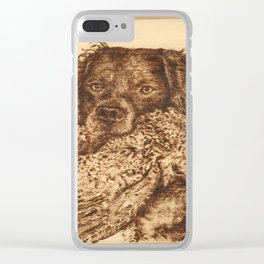 Mighty Hunter Clear iPhone Case