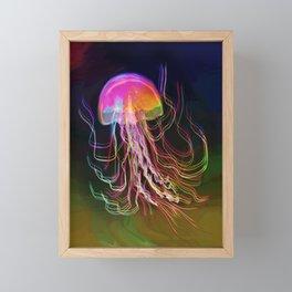 Jellyfish Smell of Summer Framed Mini Art Print