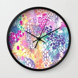 COLOR MIX Wall Clock