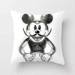 Hey Mickey Throw Pillow