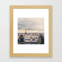 a tiny icon ... Framed Art Print