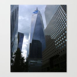 One World Trade Center View Canvas Print