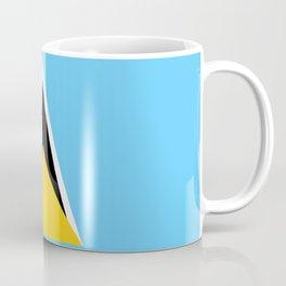 St. Lucia Flag Coffee Mug