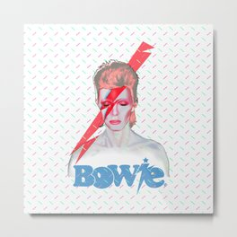 Tribute to Bowie  Metal Print