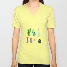 A Prickly Bunch Unisex V-Neck