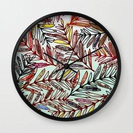 Leaf.tas Wall Clock