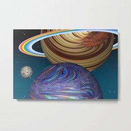 The Saturn Phenomenon Metal Print