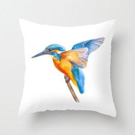 Original Kingfisher Throw Pillow