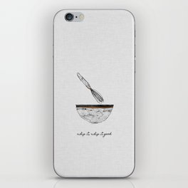 Whip It Good iPhone Skin