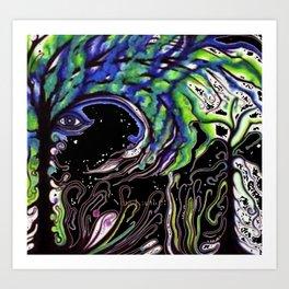 Pscodeli 3 Art Print