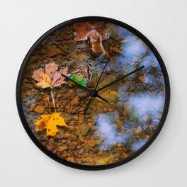 Harbinger of Fall Wall Clock