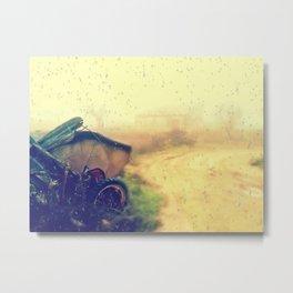 tras la lluvia Metal Print