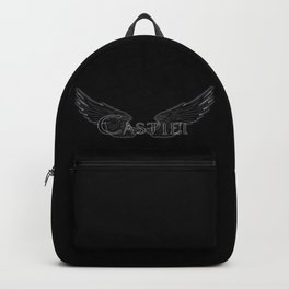 Castiel with Wings Black Backpack