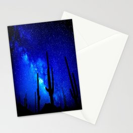 The Milky Way Blue Stationery Cards