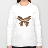 moth Long Sleeve T-shirts featuring moth by Marie Lisborg