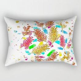 Australian Native Florals - Graphic Rectangular Pillow
