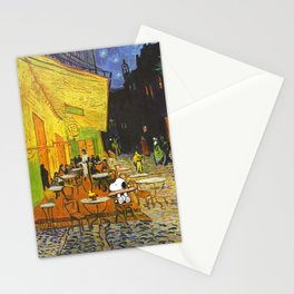 Snoopy meets Van Gogh Stationery Cards