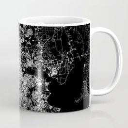 Houston map Coffee Mug