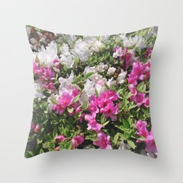 Azalea Blanket Throw Pillow