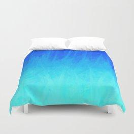 Icy Blue Blast Duvet Cover