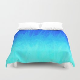 Icy Blue Blast Duvet Cover