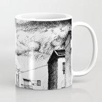 buildings Mugs featuring Buildings by Giuseppe Vassallo