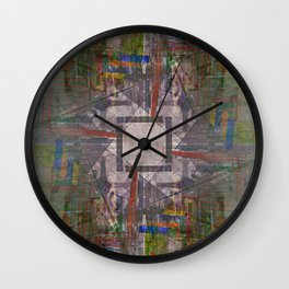 Monday 8 April 2013: to invite or imitate motion, yank turn mangle hide Wall Clock