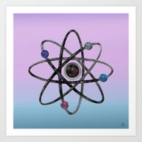 physics Art Prints featuring Physics by IvanaW