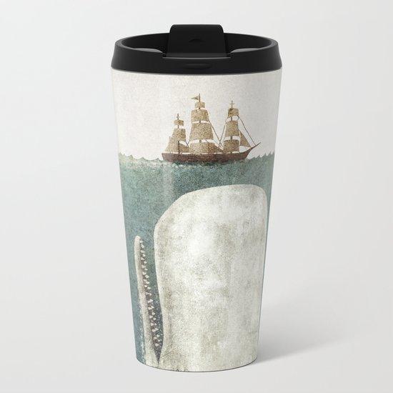 The Whale - vintage option Metal Travel Mug