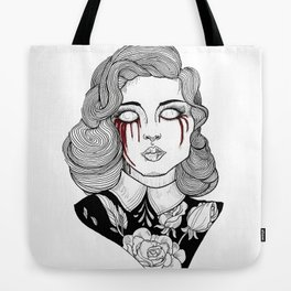 Zombie Woman Tote Bag