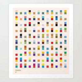 COASTAL 2 — Matthew Korbel-Bowers Art Print