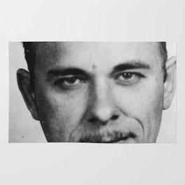 John Dillinger Mug Shot Rug
