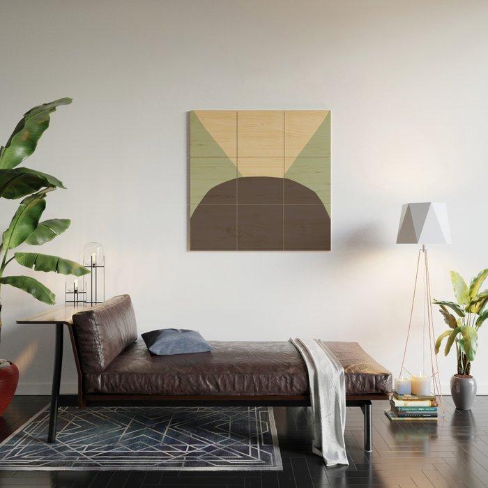 Deyoung Chocomint Wood Wall Art
