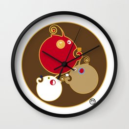 Pal-tre Wall Clock