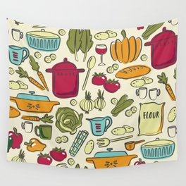 Cookin' Wall Tapestry