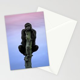 Lope The Gorilla At Sunset Stationery Cards