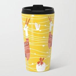 Antelope in the desert Travel Mug