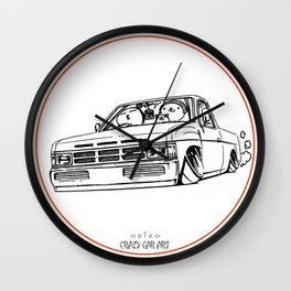Crazy Car Art 0207 Wall Clock