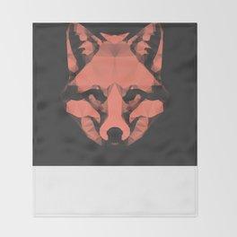 Geo - Fox  Throw Blanket