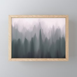 Morning Fog II Framed Mini Art Print