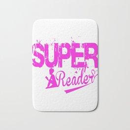 SUPER READER Bath Mat