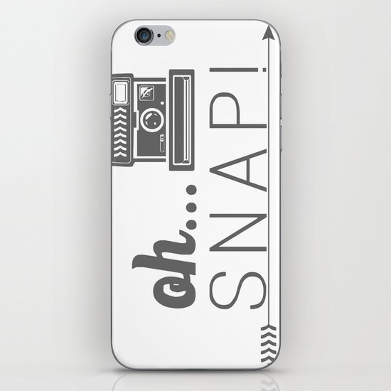 Snap! iPhone & iPod Skin