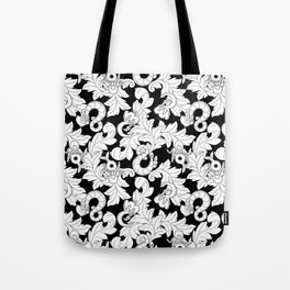 You and Me_ Background Black Tote Bag