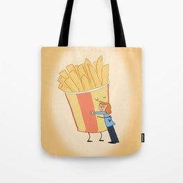 Hot Chips! Tote Bag