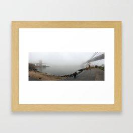 Bridges to Nowhere Framed Art Print